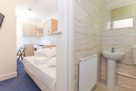 Studio Swiss Cottage Long Lets £1000 pcm all bills and Wifi