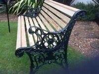 Vintage garden / patio bench