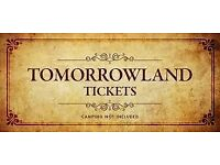 Tomorrowland 2017 Weekend 2 Full Madness Pass WITHOUT Camping (28-30 July)