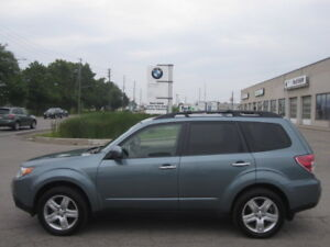 PRISTINE CONDITION ! ONE OWNER ! 2009 SUBARU FORESTER LIMITED