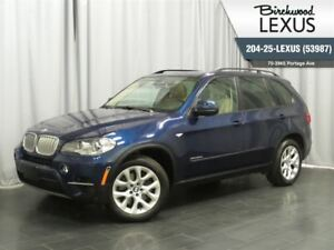 2013 BMW X5 35d w. Navigation & Heads Up Display