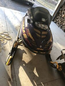 Skidoo 700 triple trade for newer kicker motor or atv