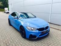 2016 16 reg BMW M4 3.0 DCT Coupe + Blue + M PERFORMANCE STYLING + BIG SPEC