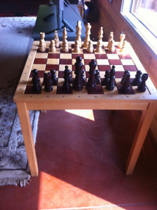 Wooden crafted Chess Set