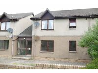 Very economical Ground Floor 2 Bed Flat to rent in quiet area of Forfar, With allocated parking