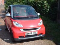 SMART CAR,DIESEL PASSION,AUTOMATIC,59 PLATE