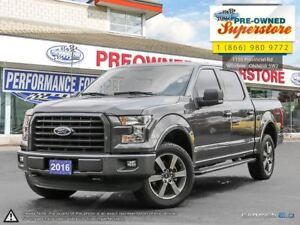 2016 Ford F-150 FX4>>>NAV, 5.0L, center shifter<<<