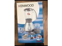 Brand new in box kenwood blender and grinder 1L