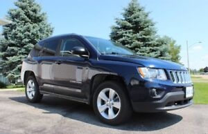 2012 Jeep Compass Sport, North Edition, Low KM A/C - Very Clean