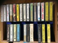 Wide selection of original cassettes from 70s etc