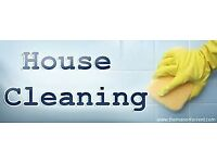 CLEANER available, £10 P/h, More than 5 years experience, Secured, flexible, EAST LONDON area.