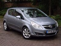 EXCELLENT CAR! 2006 VAUXHALL CORSA 1.4 i 16v Design 5dr HALF LEATHER, FSH, 1 YEAR MOT, AA WARRANTY