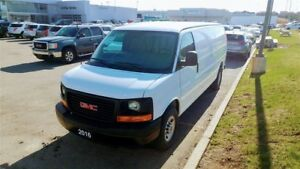 2016 GMC Savana 2500 CARGO, NO ACCIDENT, A/C , PWR GRP...