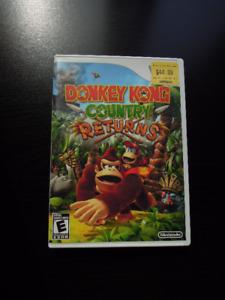 Donkey Kong - jeux pour Wii
