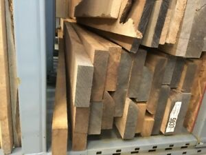 8/4 red oak and 8/4 ash