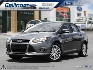 2013 Ford Focus TITANIUM w/HEATED LEATHER AND SONY AUDIO
