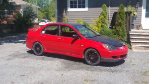 04 Mitsubishi Lancer Ralliart in good shape 5spd, 2.4L trades