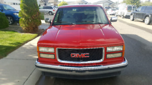 *REDUCED* 94 gmc ext cab
