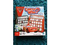 Disney cars 2 guess who like new *reduced*