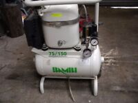 BAMBI COMPRESSOR 75/150, SUPER SILENT, MEDICAL QUALITY AIR DELIVERY