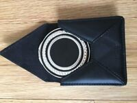 NEW Wedgwood Vera Wang With Love Noir Compact Mirror and leather case £30