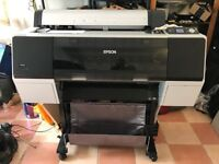 "EPSON Stylus Pro 7890 Large Format A1 24"" Printer"