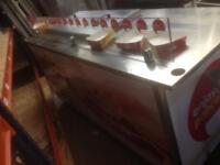 Burger pancake carts