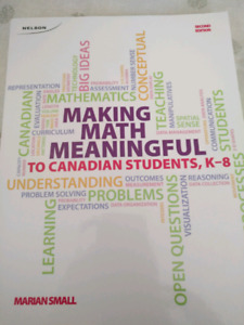 Making Math Meaningful: Marion Small