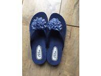 Lovely Blue Ella Flip Flops