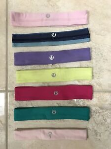 Lululemon and Ivivva headbands