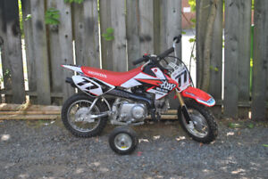 2010 crf50 with training wheels TRADE for kids atv..ns