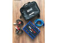 Rane Serato SL3 Blue Edition with cables and carry case