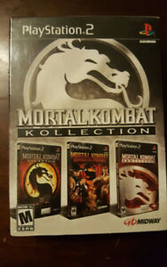 Mortal Kombat Kollection for PS2 Factory Sealed