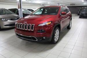 2016 Jeep Cherokee LIMITED 4X4 *CUIR/TOIT/NAV/CAMERA*