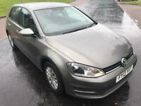 2013 Volkswagen Golf 1.6 TDI S Hatchback 5dr (start/stop)