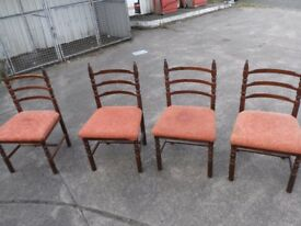 4 Chairs for sale..Can be delivered..