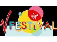4 x V Festival Saturday DAY TICKETS + VIP AREA + PARKING (Hylands Park)
