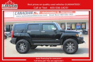 2007 HUMMER H3 4x4 lifted lots of xtras FINANCING FOR ALL
