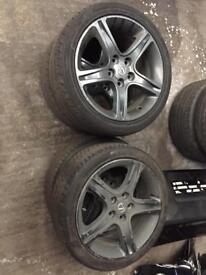"17"" Grey Lexus IS200 Sport Alloys 5x114.3"
