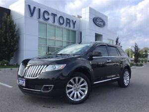 2013 Lincoln MKX Navigation, Panoramic Moonroof, Low Km's