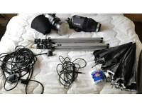 Bowens Esprit 125 studio photographic lighting kit