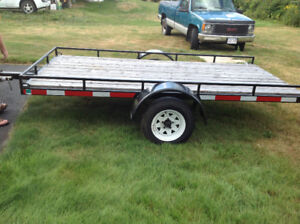 5' by 10' utility trailer