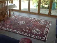 Large antique Turkish rug