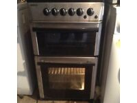Gas cooker,stainless steel,£85.00