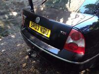 VW Passat, 1.9 SE TDI, 2003, Black, All Extras, Motorway miles only, 1 Owner, MOT