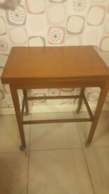 Vintage Card Table In Great Condition