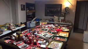 VERY LARGE COLLECTABLE LOT  COCA COLA OLD MONEY COMICS AND MORE