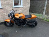 CAFE RACER - SUZUKI 600 BANDIT - RELALY NICE LOOKING BIKE - NEW TIRES - NO FAULTS - £1850 OVNO