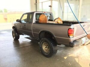 Mazda B4000 lifted 4.0 5 speed trade for car