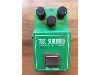 Ibanez TS808 Tube Screamer vintage overdrive pedal